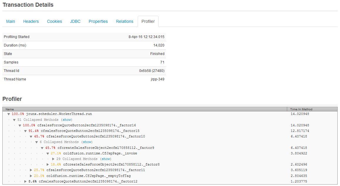 Introducing FusionReactor's Production Java Profiler, FusionReactor