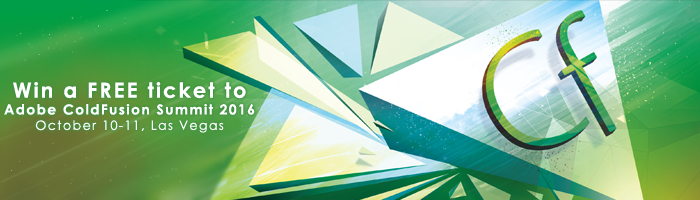 Win a Ticket for Adobe ColdFusion Summit – Las Vegas, 2016, FusionReactor
