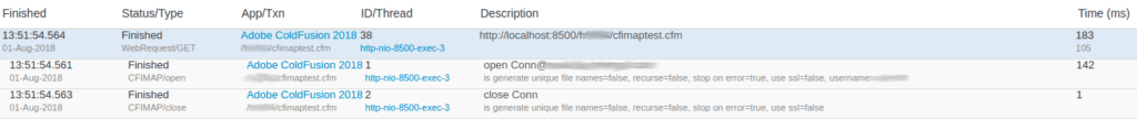 FusionReactor 7.4.0 adds support for ColdFusion / Lucee tags (CFLDAP, CFFTP, CFMAIL, CFIMAP, CFPOP), FusionReactor