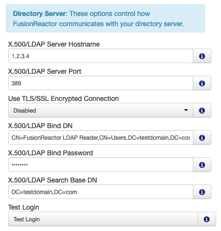Using Active Directory to Log In to FusionReactor