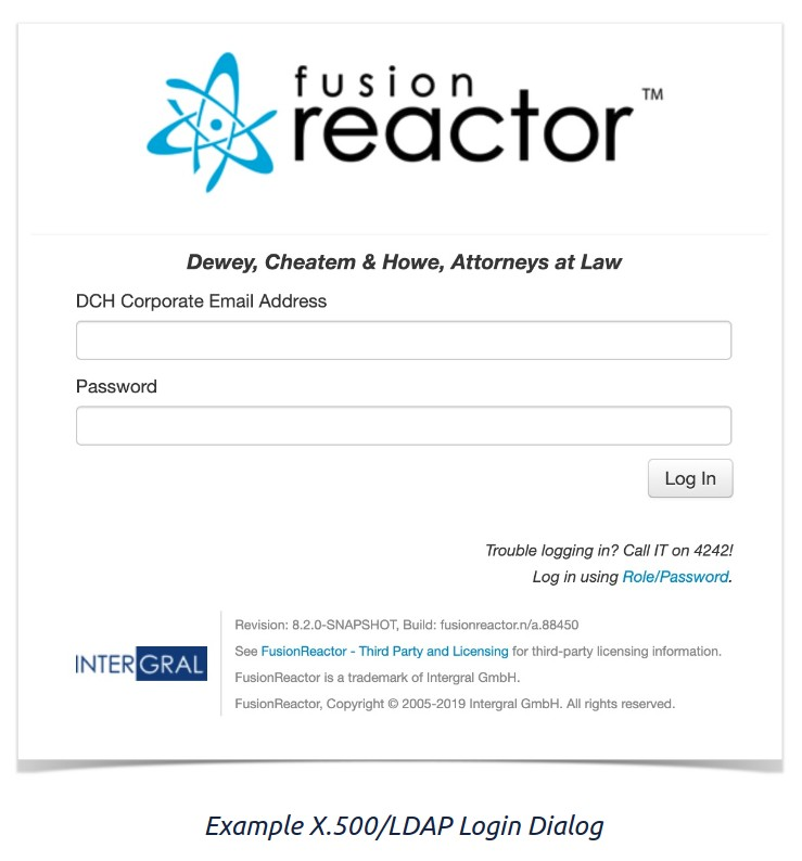 Managed Users, FusionReactor