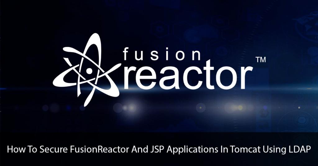 FusionReactor And JSP Applications Banner Image