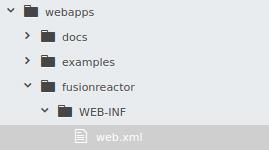 FusionReactor Folder Directory