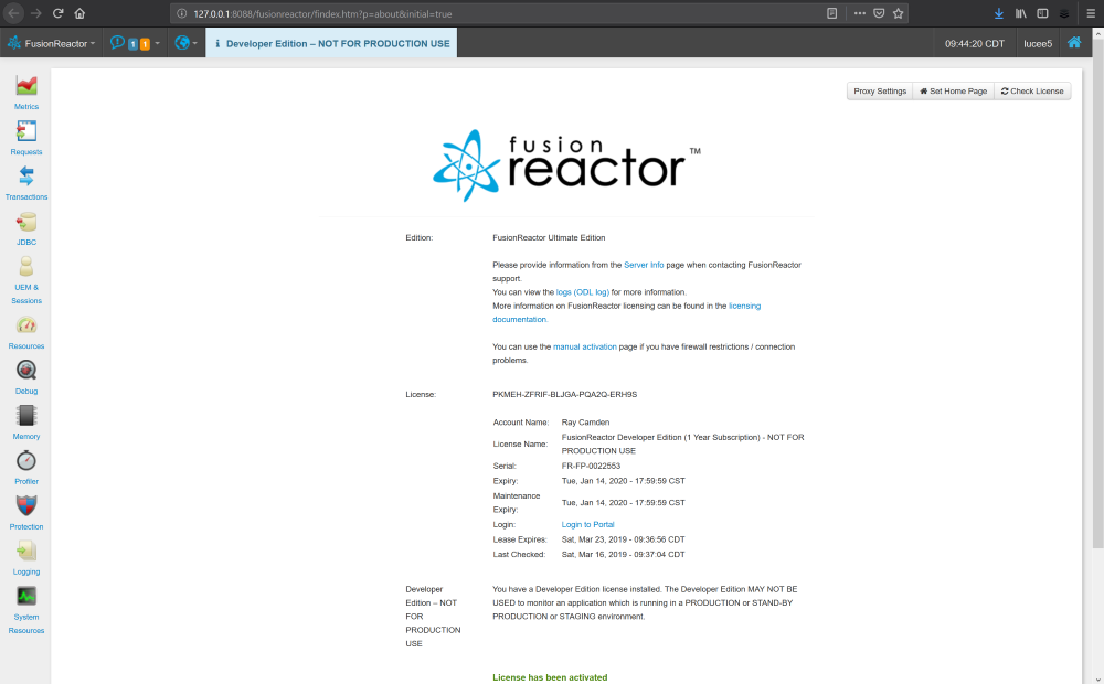 Getting Started with FusionReactor (for ColdFusion Devs), FusionReactor