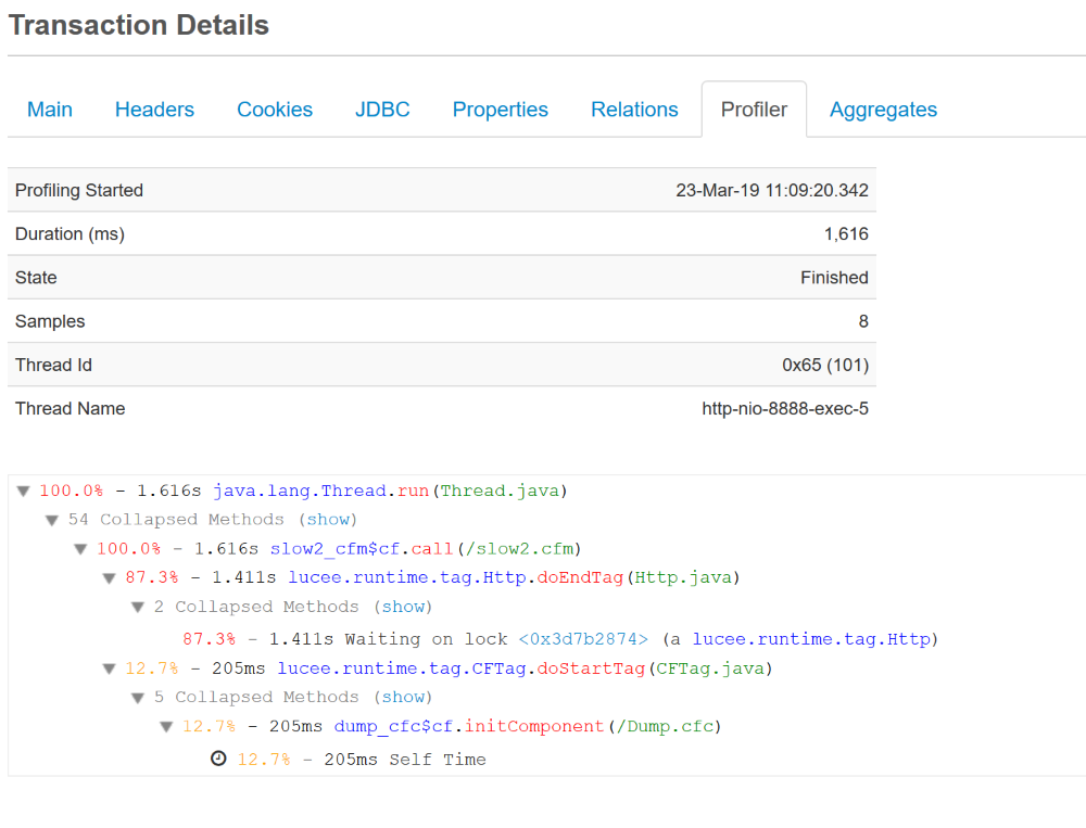 Finding (and Fixing) Your Slow ColdFusion Pages with FusionReactor, FusionReactor