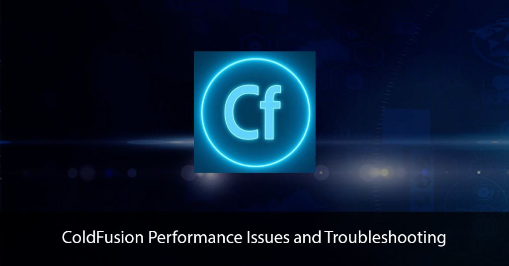 ColdFusion Performance Title Page