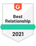 Best Relationship 2021 Badge