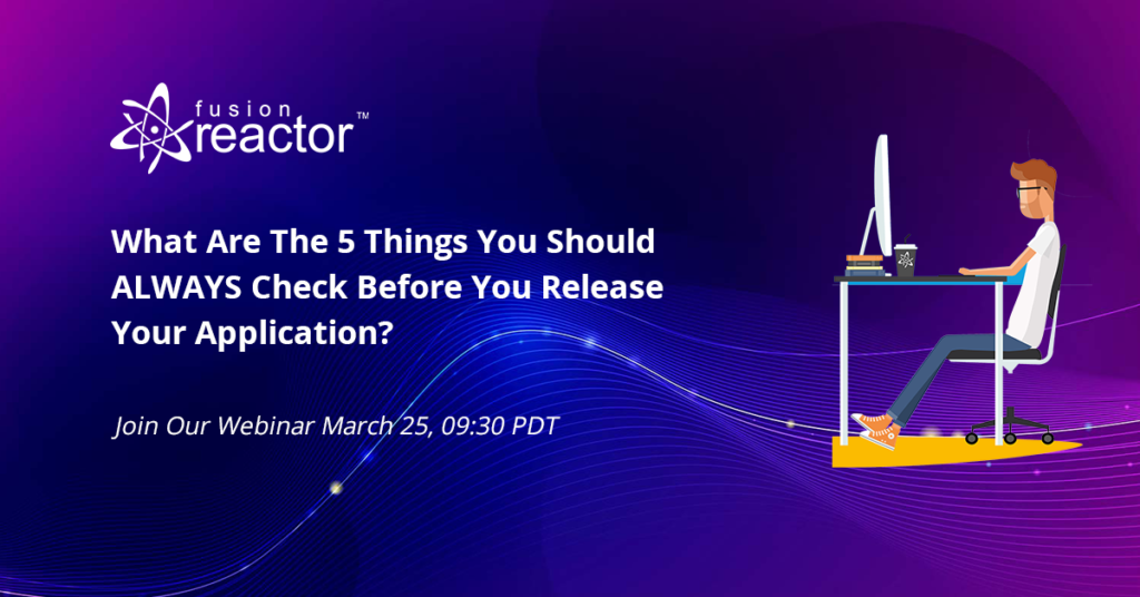 5 things you should ALWAYS check before you release your application