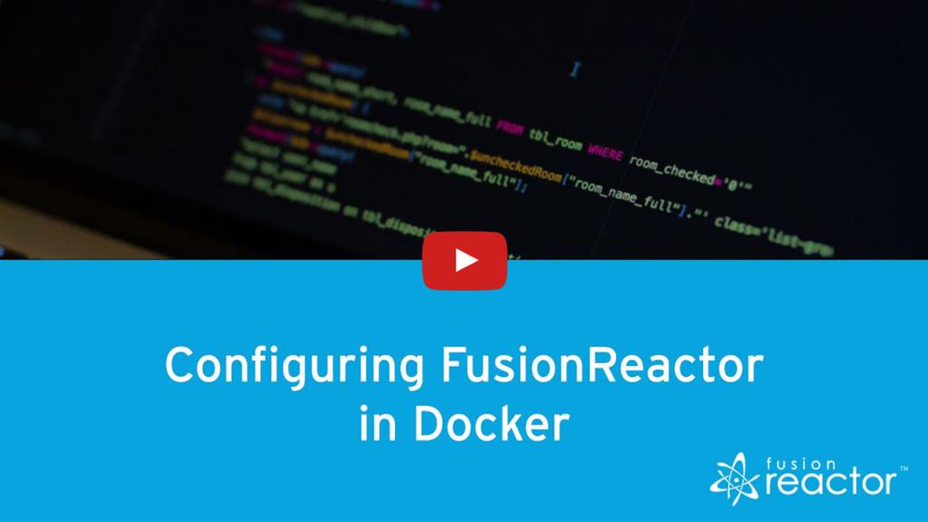 Configuration, FusionReactor