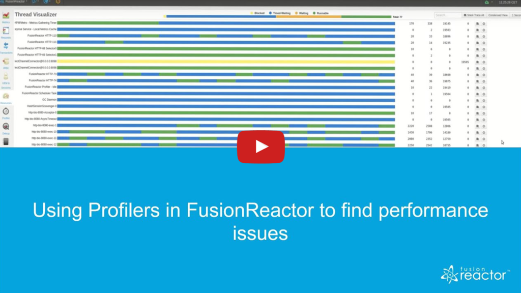 Performance Troubleshooting, FusionReactor