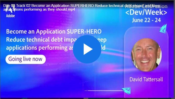 ceome an application sperhero with FusionReactor