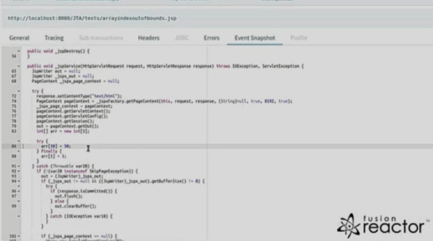 Java-Application-Performance-Snapshot